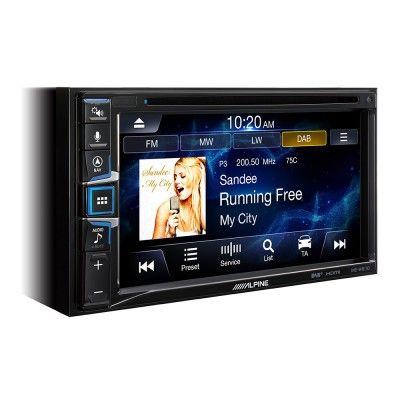 ALPİNE INE-W611D 6.5-inch Dokunmatik Ekranlı, Dahili Navigasyon, Apple CarPlay ve Android Auto özellikleri