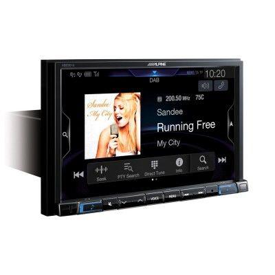 ALPİNE X803DC-U Apple CarPlay ve Android Auto