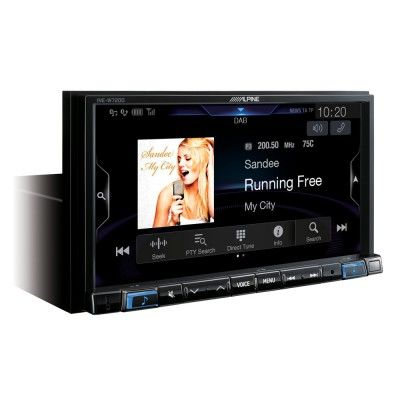 ALPİNE INE-W720D Apple CarPlay ve Android Auto