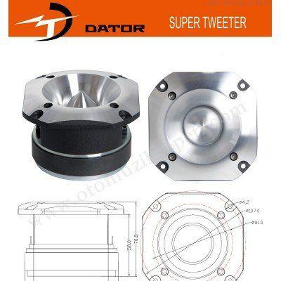 DATOR CPT-25 Tweeter 500 Watt 75 Rms