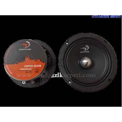 DATOR DPM65 16 Cm Midrange Hoparlör 600 Watt 150 Rms