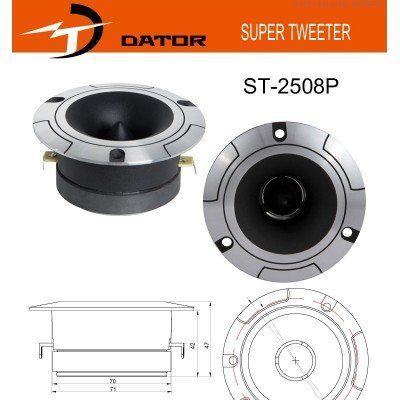 DATOR ST2508P Twetter 200 watt 50 Rms