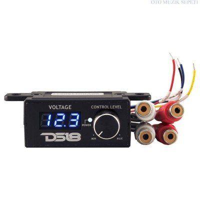 DS18 Voltmetre ve Uzaktan Kumandalı Evrensel Bass Kontrol