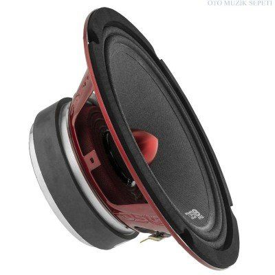 "PRO-X 8"" Mid-Range Loudspeaker with Bullet 600 Watts 300 Rms 4-Ohm"