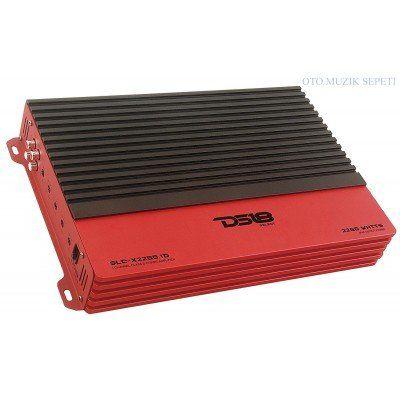 DS18 SLC-X2250.1D 1 Channel Class D Monoblock Amplifier
