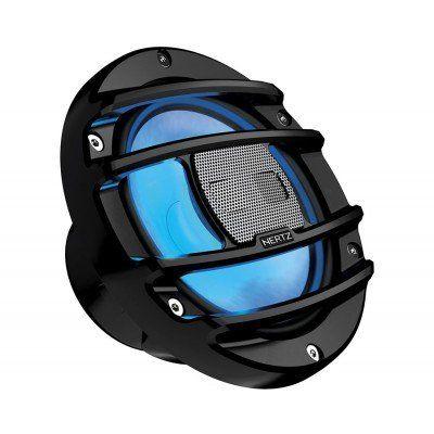 HERTZ HMX 6.5 S LD 16,5cm 2 Yollu Siyah Powersports Koaksiyal Hoparlör RGB Ledli