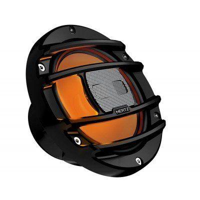 HERTZ HMX 8 S LD 20cm 2 Yollu Siyah Powersports Koaksiyal Hoparlör RGB Ledli