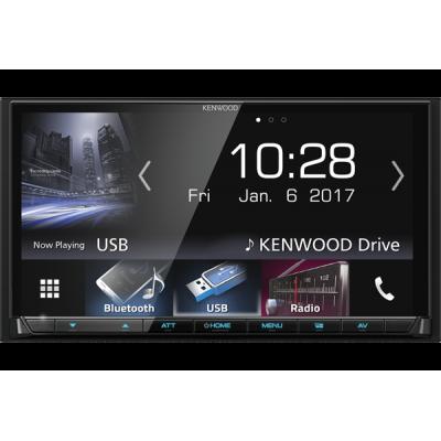 Kenwood DMX-7017bts Multimedya Apple CarPlay Android Auto Bluetooth USB Radyo
