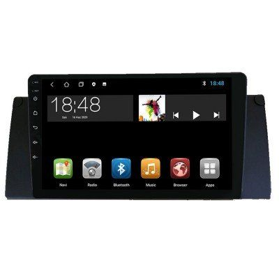 BMW X5 E53 9 inç Android Navigasyon ve Multimedya Sistemi