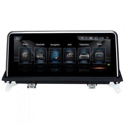 Bmw X5 E70 X6 E71 Android Navigasyon ve Multimedya Sistemi 10.25 inç