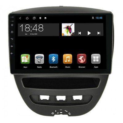 Citroen C1 Peugeot 107 9 inç Android Navigasyon ve Multimedya Sistemi