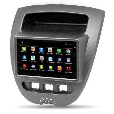 Citroen C1 Peugeot 107 Android Navigasyon ve Multimedya Sistemi 1 Gb