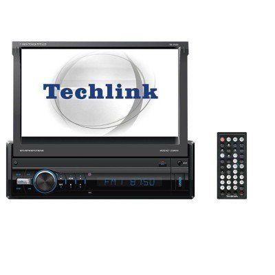 Techlink TE-7700 USB SD Navigasyonlu İndash Oto Teyp