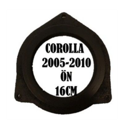 TOYOTA COROLLA YARİS AURİS ÖN 16 CM 2005-2014 MDF HOPARLÖR KASNAK