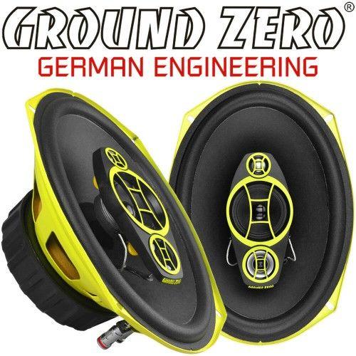 GROUND ZERO GZCF7104XSPL 7x10 OVAL HOPARLÖR