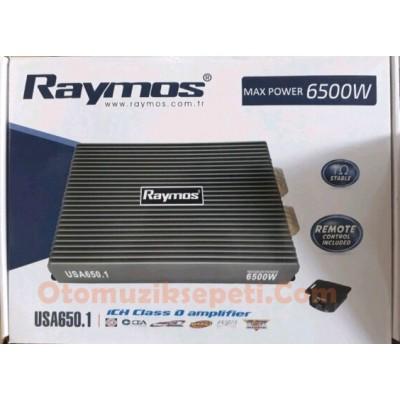 RAYMOS USA 650.1 6500 WATT D CLASS MONO AMFİ