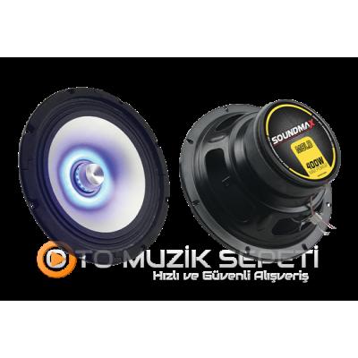 SOUNDMAX SX-M8LD 16 CM MİDRANGE OTO HOPARLÖR