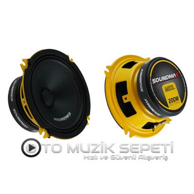 SOUNDMAX SX-M5XL 13 CM MİDRANGE OTO HOPARLÖR