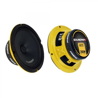 SOUNDMAX SX-MX6 16 CM MİDRANGE OTO HOPARLÖR