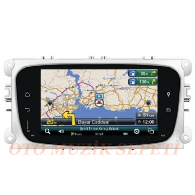 FORD FOCUS-MONDEO 2007-2011 ANDROİD MULTİMEDYA