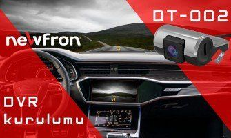 NEWFRON DT-002 DVR (OTO USB KAYIT CIHAZI ) KURULUMU