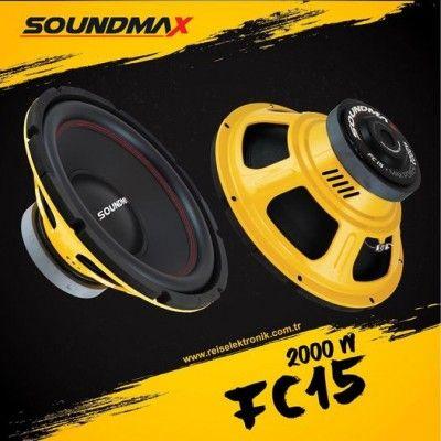SOUNDMAX FC15 38 CM SUBWOOFER