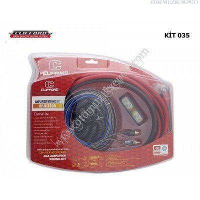 Araç Kablo Seti Clifford CF 4GA KIT 035