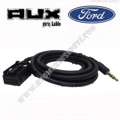Ford Araçlara Uyumlu Orjinal Soketli Aux Kablosu