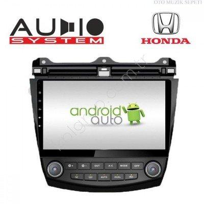 Honda Accord Araçlara Android Multimedia Navigasyon 4+64 GB