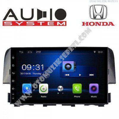Honda Civic FC 5 Android Multimedia Navigasyon Oto Teyp 1+16gb
