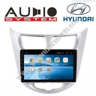 Hyundai Accent Blue Araçlara Android Multimedia Navigasyon