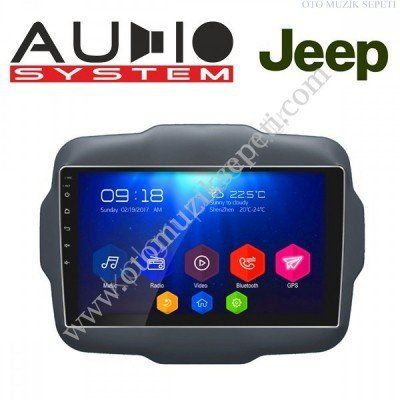 Jeep Renegade Araçlara Android Multimedia Navigasyon
