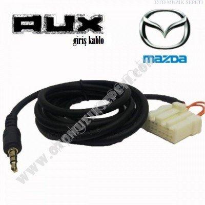 Mazda Orjinal Araçlara Uyumlu Orjinal Soketli Aux Kablosu