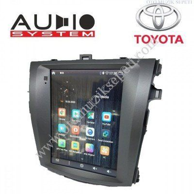 Toyota Corolla Araçlara Tesla Android Multimedia Navigasyon 1+16GB