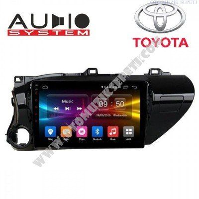 Toyota Hilüx Araçlara Android Multimedia Navigasyon