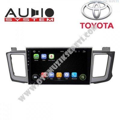 Toyota Rav 4 Araçlara Android Multimedia Navigasyon
