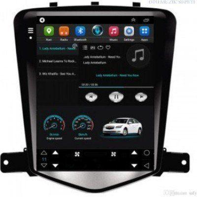 Chevrolet Cruze Araçlara Tesla Model 1+16GB Android Multimedia Navigasyon Oto Teyp