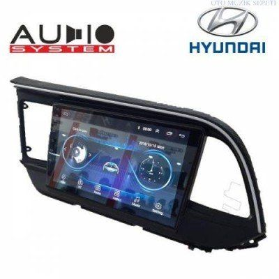 Hyundai Elentra 2019 2020 Araçlara Android Multimedia Navigasyon Oto Teyp 2+32GB