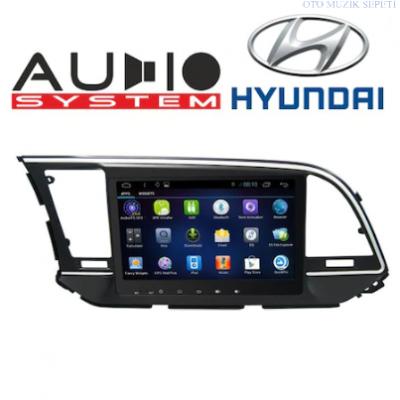 Hyundai Elentra Araçlara Android Multimedia Navigasyon 2+32GB