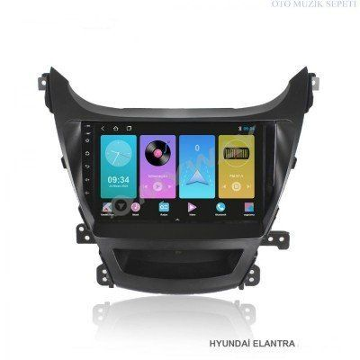 Hyundai Elentra Araçlara Android Multimedia Navigasyon Oto Teyp 1+16 Gb