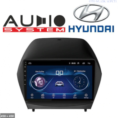 Hyundai ix35 Araçlara Android Multimedia Navigasyon