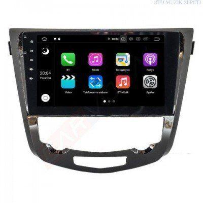 Nissan Qasqai Araçlara Android Multimedia Navigasyon