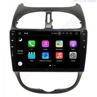 Peugeout 206 Android Multimedya Navigasyon