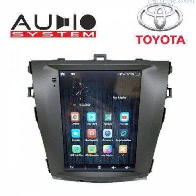 Toyota Corolla Araçlara Tesla Android Multimedia Navigasyon 2+32GB