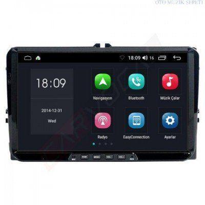 Volkswagen CC 2009 ve 2017 Araçlara Android 8 0 Multimedia Navigasyon