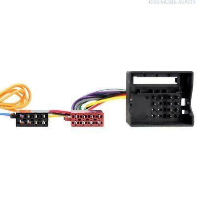 CITROEN PEUGEOT Araca Özel ISO Kablo Dönüştürme Soketi