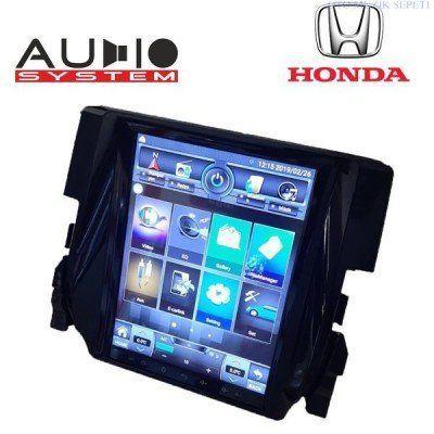 Honda Civic FC 5 Android Tesla Model 2+32 GB Multimedia Navigasyon Oto Teyp