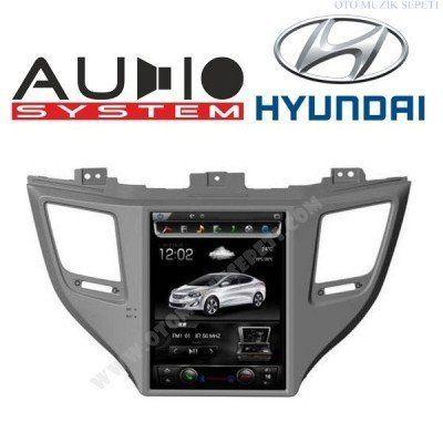 Hyundai Tucson Araçlara Tesla 1+16GB Android Multimedia Navigasyon Oto Teyp