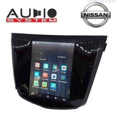 Nissan Qasqai Araçlara Tesla Android Multimedia Navigasyon 1+16GB