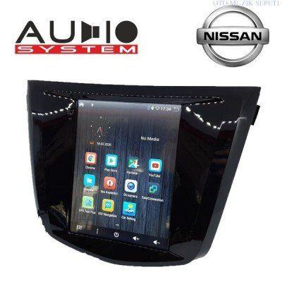 Nissan Qasqai Araçlara Tesla Android Multimedia Navigasyon 2+32GB